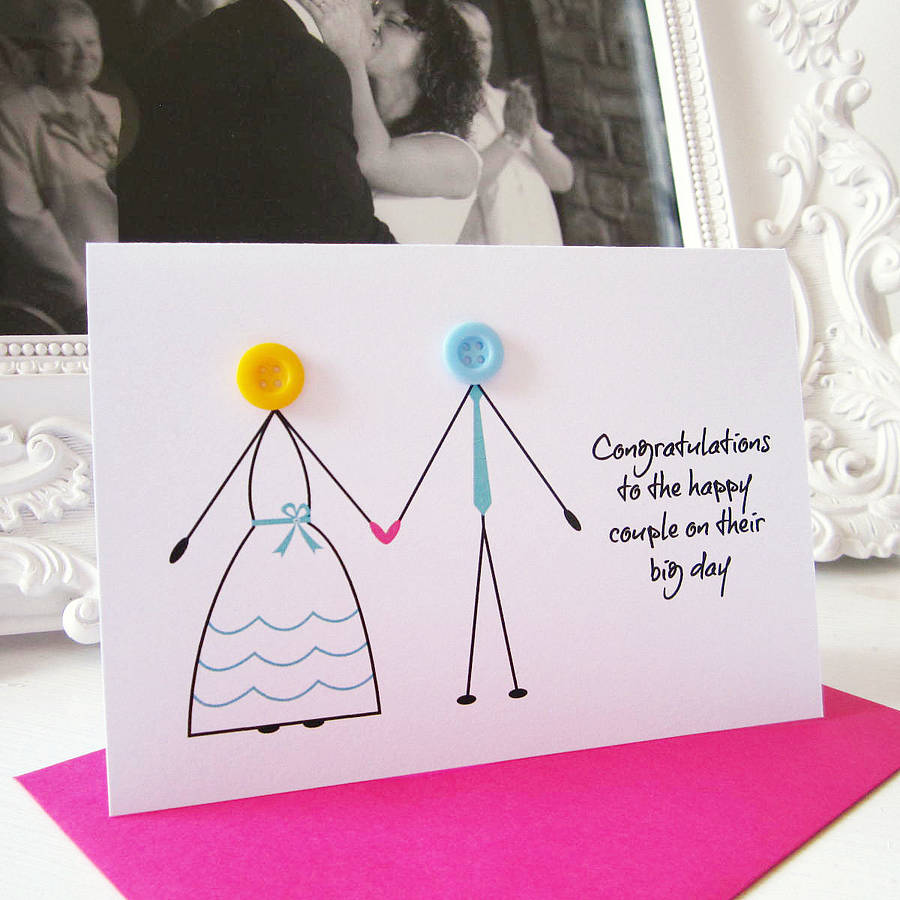 39 wedding day 39 congratulations card by mrs l cards. Black Bedroom Furniture Sets. Home Design Ideas