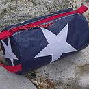 Star Sailcloth Wash Bag