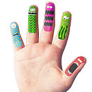 Children's Temporary Finger Tattoos
