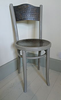 Vintage Painted Bentwood Chair