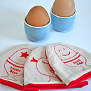 Screen Printed Egg Cosy
