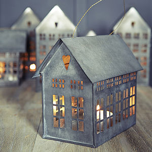 Mini City Candle House - home accessories