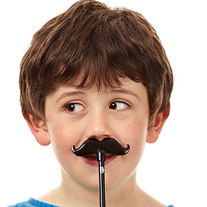 Moustache Pencil Topper And Pencil - stationery