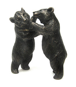 Playing Moon Bears - art & decorations