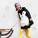 Girls Penguin Dress