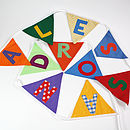 Personalised Bunting - Alessandro