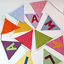 Personalised Party Bunting - Amalia