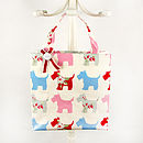 Tottie Tote Bag in Scottie Dog
