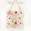 Tottie Tote in Butterfly Floral