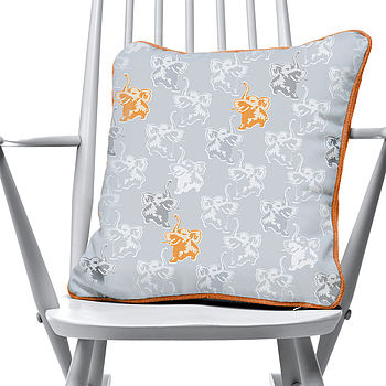 Elephant Pattern Cushion