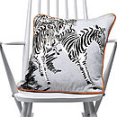 Thumb zebras cushion
