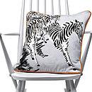 Zebras Cushion