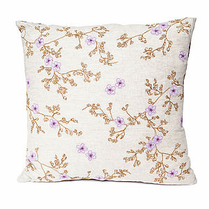 Blossom Cushion - patterned cushions