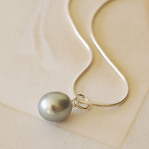 Pearl Drop Necklace - women's jewellery
