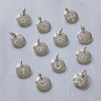 Loose Initial And Story Charms