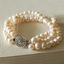 Three Strand Pearl Bracelet