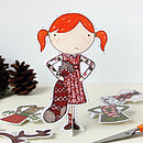 Illustrated Paper Doll
