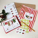 A Complete Gift Wrapping Kit Is Also Available