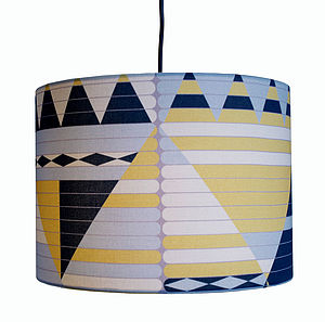 Geometric Lampshade - lamp bases & shades