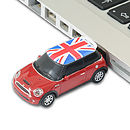 Thumb mini cooper s memory stick