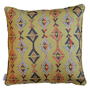 Aztec Cushion - decorative accessories