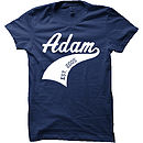 Personalised Athletic Sports T-Shirt (White Design)
