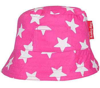 Pink with White Stars