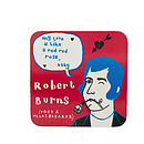 Robert Burns Coaster