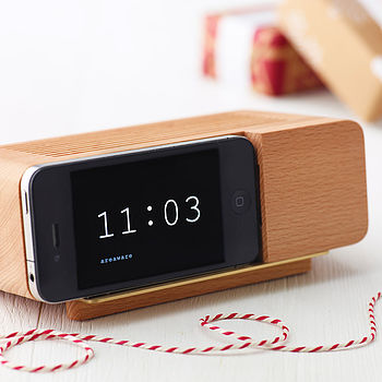 Alarm Clock Holder For iPhone Four