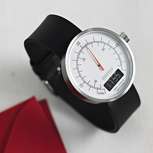 Pressure Gauge Style Watch - gifts for him
