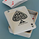 Ceramic Playing Card Box