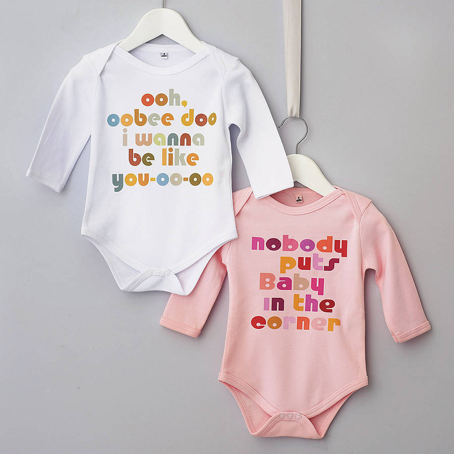 Good Morning Black Baby Quotes Film quote babygrow 'baby in