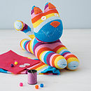 Thumb sock kitty craft kit