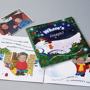 Personalised Christmas Story Book - gifts under £25