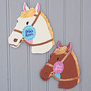 Personalised Horse Door Plaque