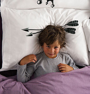 Head Case Arrows Pillowcase - bed, bath & table linen