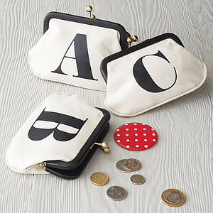 Initial Coin Purse - inspired by fashion & style