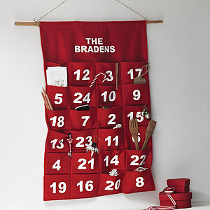 Personalised Advent Calendar - advent calendars