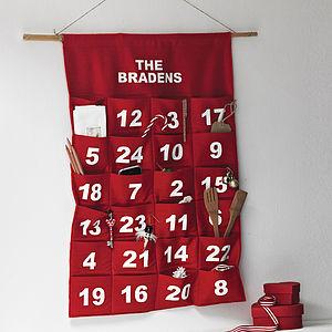 Personalised Advent Calendar - advent calendars
