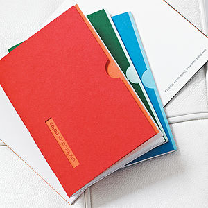Personalised 'Undercover Notes' Notebook
