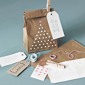 Modern Gift Wrap Pack - cards & wrap