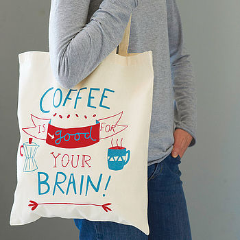 'Coffee Is Good' Tote Bag