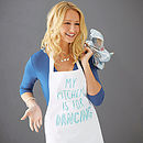 'My Kitchen Is For Dancing' Apron