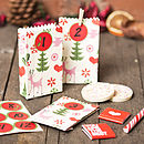Christmas Advent Calendar Gift Bags