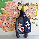 Mod Bear Handmade Decorative Display Bear