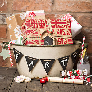 Mini Blackboard Bunting - room decorations