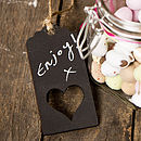 Love Heart Blackboard Gift Tag