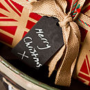 Blackboard Gift Tag