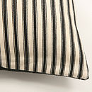 Ticking Stripe Highland Tweed Cushion Cover
