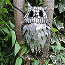 Little Metal Owl Garden Decoration